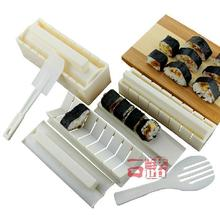 10 Pieces Sushi Set Styling Sushi Tools in Sushi Maker Machine Creative Kitchen Accessories Mold for Sushi Japanese Food