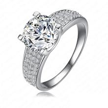 Luxusní dámský prstýnek s kamínky z Aliexpress