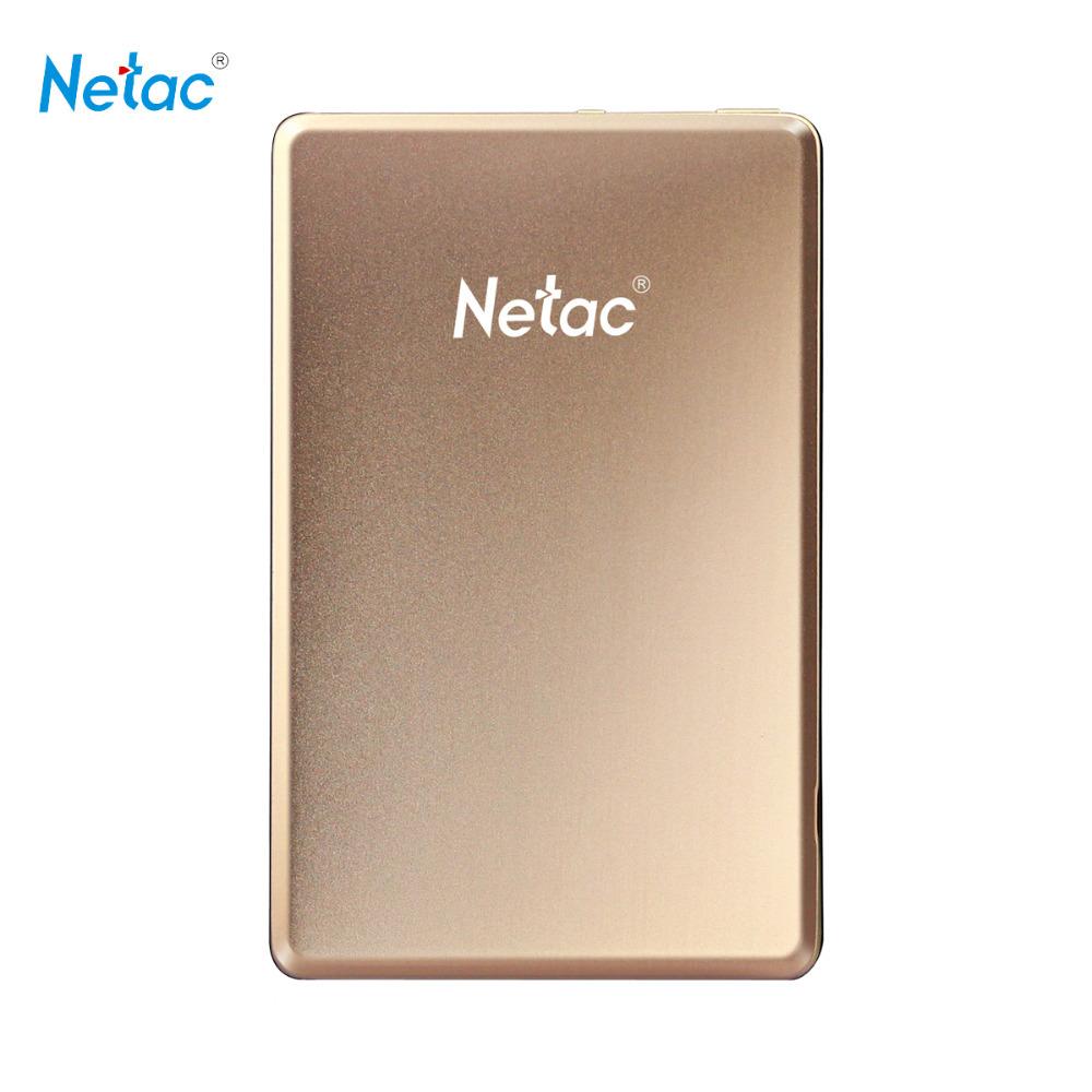 Внешний жесткий диск Netac K206 USB 3.0 500 1 HD HDd внешний жесткий диск lacie 9000304 silver