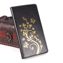New Doogee Homtom HT7 Case Flower Fashion PU Leather Case Cover For Homtom HT7 Pro 5.5 Protective Case