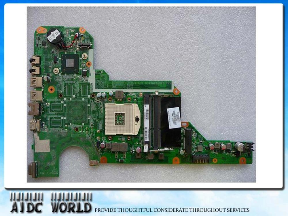 Фотография FREE SHIPPING ( 680568-001 ) 680568-501 DA0R33MB6F1 REV : F laptop Motherboard For HP Pavilion G4 G6 G7 Mainboard