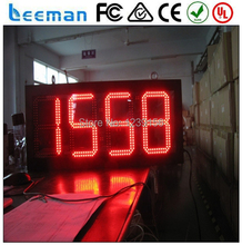 waterproof Outdoor LED digital traffic time clock/timer/countdown/counter display sign digital wall led countdown timer(China (Mainland))