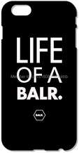 Retail LIFE OF A BALR Cell Mobile Phone Case Plastic Hard Cover For iphone 4 4S 5 5S SE 5C 6 6S Plus For iPod Touch 4 5 6 Cases