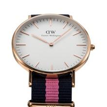 Top Brand Luxury Style Daniel Wellington Watches DW Women s Watch Nylon Strap Military Quartz Men
