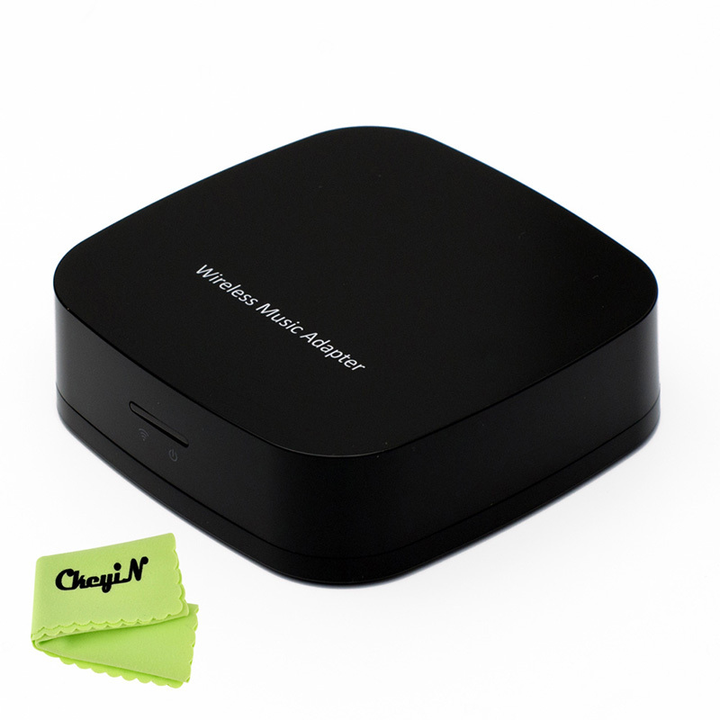 WIFI Music Streaming Receiver Wireless Audio Player Adapter Support Airplay/DLNA iPhone iPad Computer YX002-S27 - ELE-SHOPPING Store store