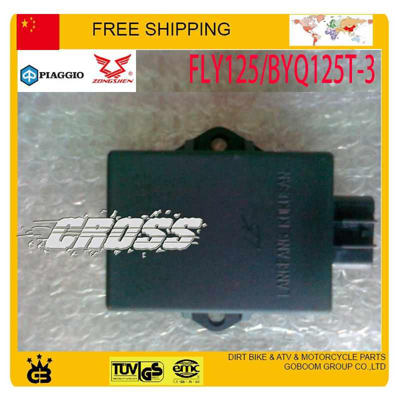 zongshen PIAGGIO CDI BOX 125cc SCOOTER FLY125/BYQ125T-3 parts 8pin sccessories - GoBoom Group Co.,Ltd store