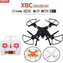 SYMA X8C 2.4Ghz 6-Axis Gyro RC Quadcopter Drone UAV RTF UFO 2MP HD Camera Wide Angle RC Quadcopter Remote Control Helicopter