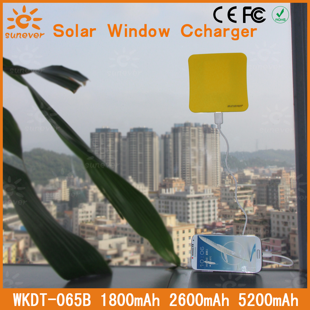 5200MAH!! Free shipping cargador solar sunever new product hot sale solar panel charger for iphone/ipad/ipod(China (Mainland))