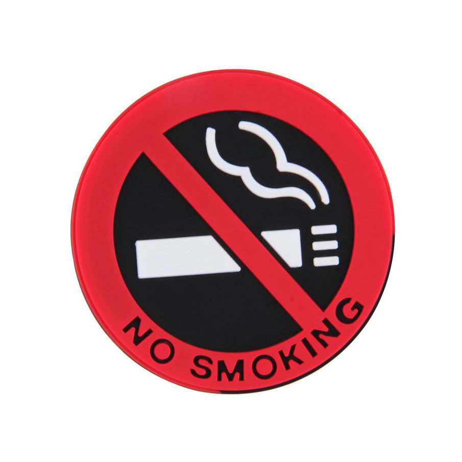 New hot selling car styling No smoking logo stickers car stickers Dropshipping
