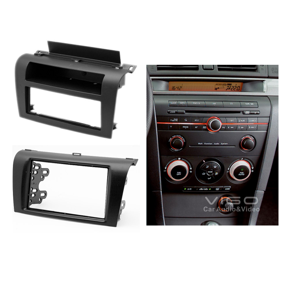 car radio dash kit facia for mazda 3 axela headunit cd. Black Bedroom Furniture Sets. Home Design Ideas