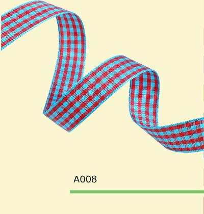 1 4 Inch 7mm font b tartan b font ribbon