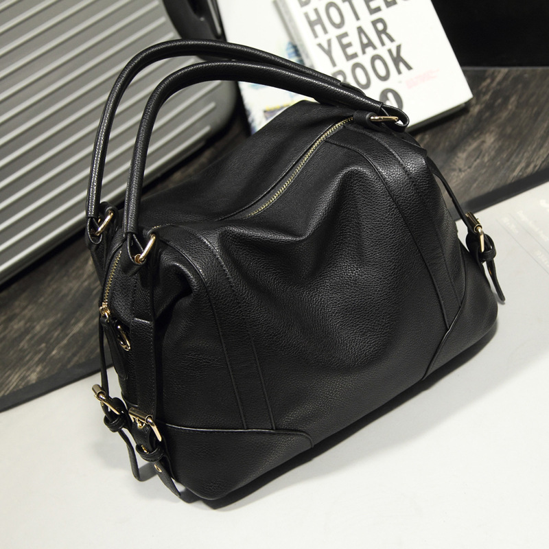 Woman Split Leather Handbag Large Leather Handbags Big Tote High Quality Women's Messenger Bags Shoulder Bag Bolsos Mujer PT0131(China (Mainland))