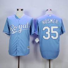 Majestic Men's KANSAS CITY ROYALS BO JACKSON George Brett Jerseys(China)