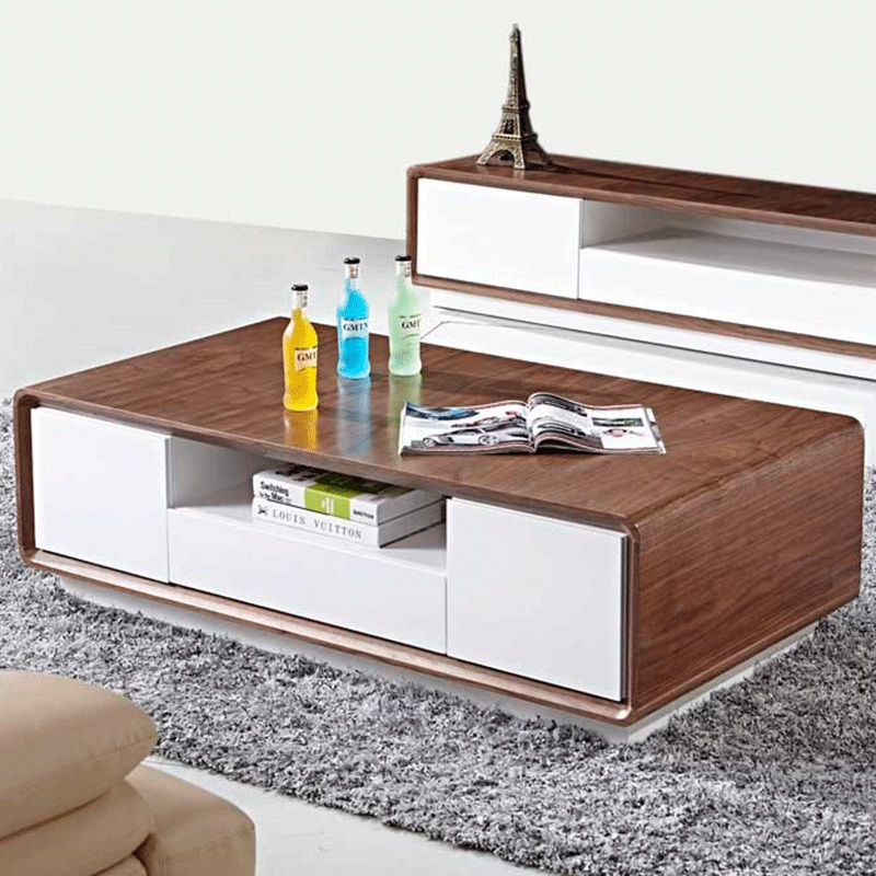 Quality living room sets modern house Coffee table tv stand set