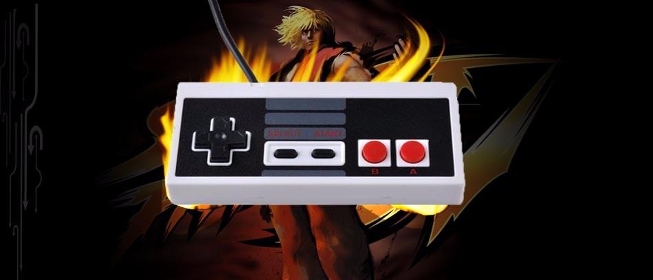 image for Plastic USB Gamepads Controller Gaming Gamer JoyStick Joypad For NES W