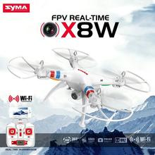 Original Syma X8W Explorers Drone WiFi FPV RC Quadcopter 4CH 6-axis Gyro Dron With HD 2.0MP Camera RTF White Free Shipping