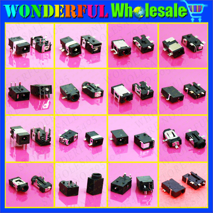 Best price Best model DC Jack DC power interface Connector Charging port for tablet 16kinds 160PCS Free shipping<br><br>Aliexpress