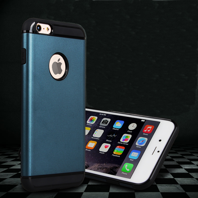 New Armor Tough Hard Hybrid Case for iphone 6 Plus 5.5 Inch(China (Mainland))