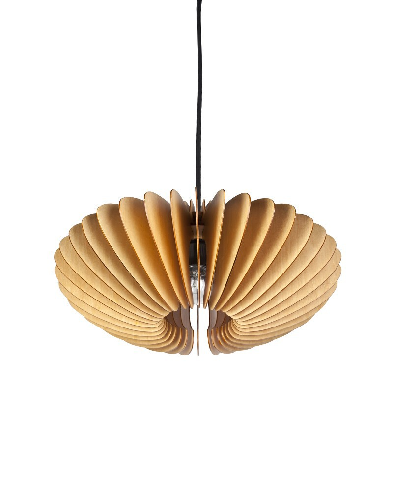 Ems Free Shipping E27 Pendant Light Modern Style Wood Paper Shade Home Pendant Lamp Fixture For