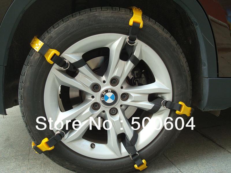 Устройства противоскольжения на колёса