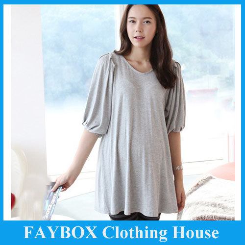 Fashion Casual Loose Long Plus big size for pregnant women ...
