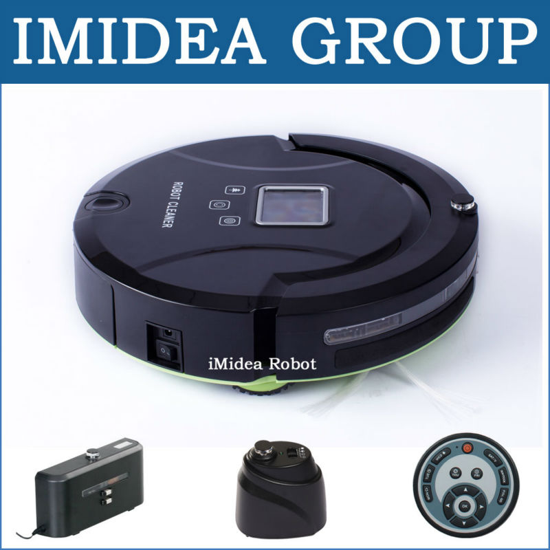 Buy Robot Vacuum Cleaner (stair avoidance, non-marring bumper, touch sensitive sensor, Auto Charging) in Russia, 2 Virtual Wall(China (Mainland))