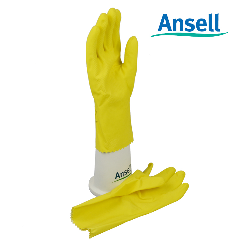 Ansell chemical-resistant gloves clean oil and gas chemical anti- radioactive contamination<br><br>Aliexpress