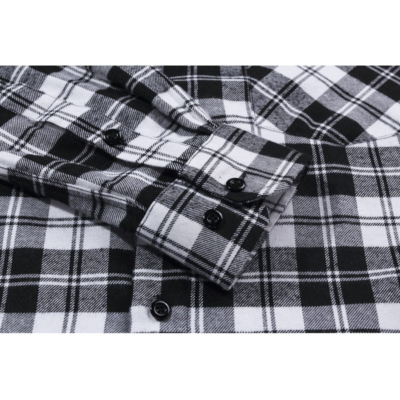 Newest 2015 Fall Winter Men Casual Plaid Shirt Long Sleeve Slim Fit Flannel Man Clothes Fashion