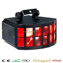 Buy Free LED Double Butterfly 4in1 LED stage effect lights DJ Party Disco led effect light Stage Lamp Equipment ktv lights for $99.64 in AliExpress store