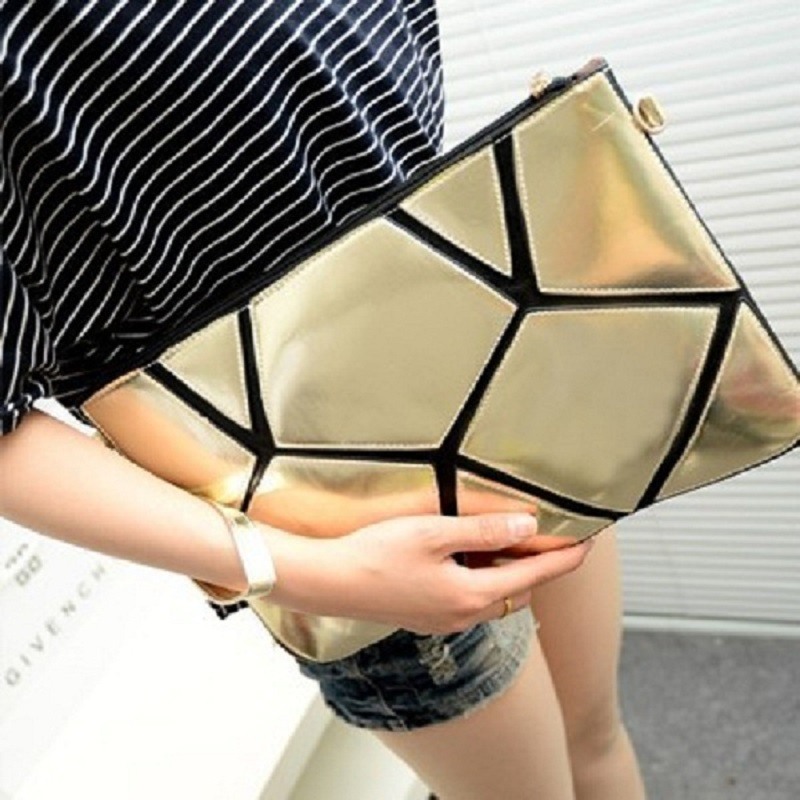 2016 Fashion women chain clutch bags envelope purse Shoulder Clutch Evening Bag elegant PU Leather XFB01 - love life's store