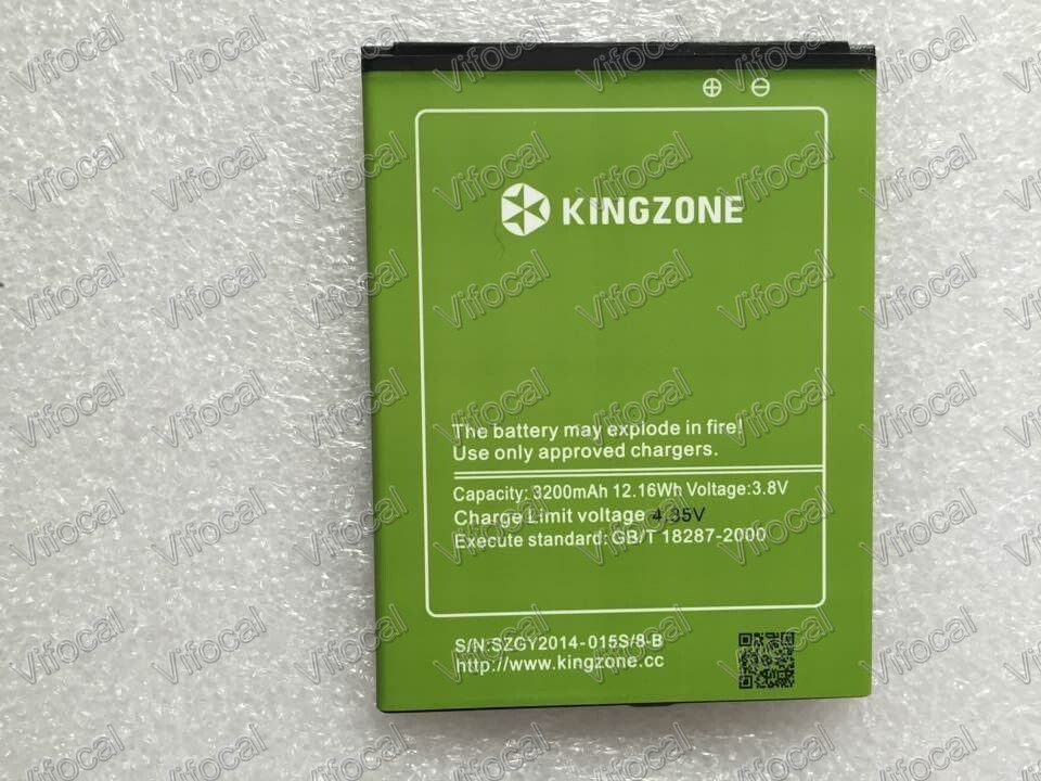 Kingzone k1 Battery 3200mAh Large 100 Original New Replacement For Kingzone K1 turbo pro phone Free