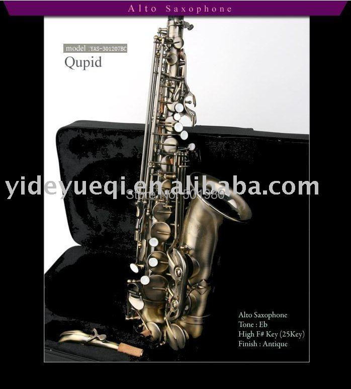 CUPID Deluxe Professional Alto saxophone YAS-301207BC/Antique/ Hot-Sale/Brand New/Gift Parcel $100 - Yide Musical Instruments (Jiashan store Co., Ltd.)