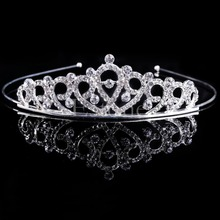 Crystal Tiara Wedding Crown