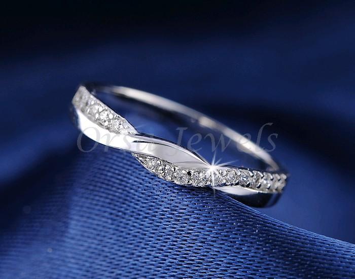 Орса новое поступление бесконечность кольцо с блестящей кристалл циркона мода ювелирных изделий кольцо оптовая продажа OR44