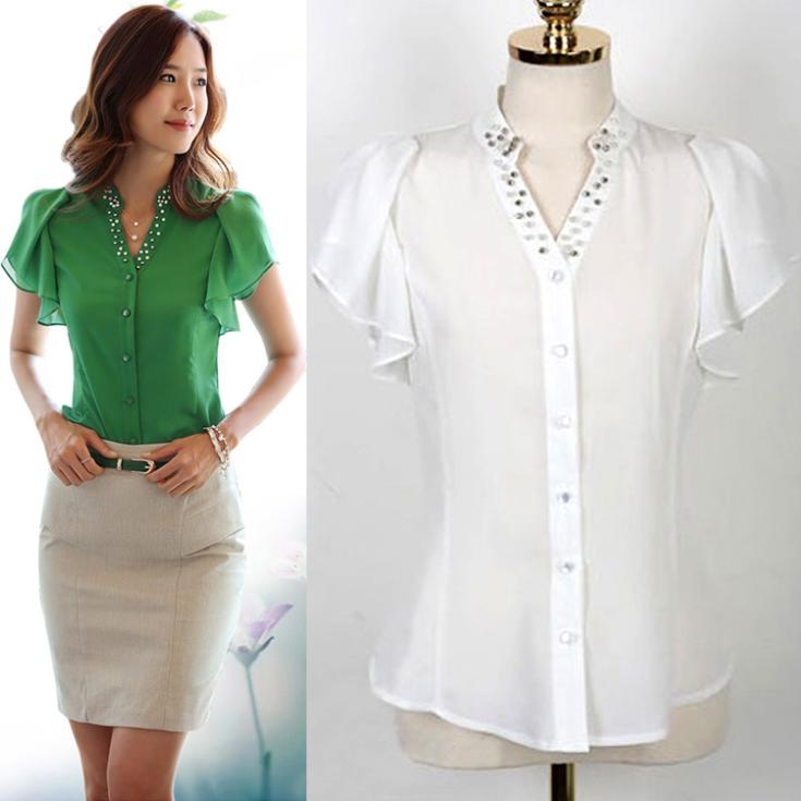 Innovative Aliexpresscom  Buy 2016 Summer Style Women Blouses Fashion Plus Size