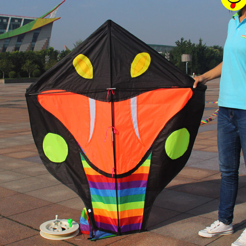 Latest Fun Nylon Kites Cerf Volant Cobra Kite Parafoil Outdoor Parachute Pipas Cometa Voladora Stunt Kite Surf Flying Aquilone(China (Mainland))