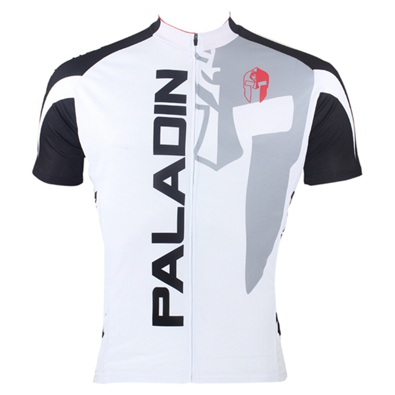 Fashion PALADIN Men Bike Jersey Pro MTB Cycling Jersey Top Knight helmet half Short Sleeve Sports Wear Cycling summer Shirts(China (Mainland))