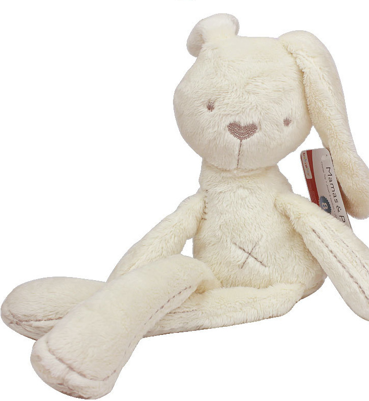 baby Rabbit Plush Toy peluche kawaii kids doll Smooth Obedient Rabbit Sleep Calm soft toys AY137-SZ+(China (Mainland))