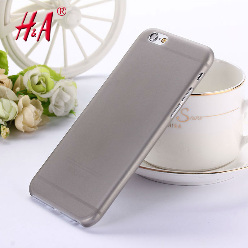 0.3mm Ultra thin matte Case cover skin for iPhone 6 6S Translucent slim Soft plastic Free Shipping Cellphone Phone case(China (Mainland))