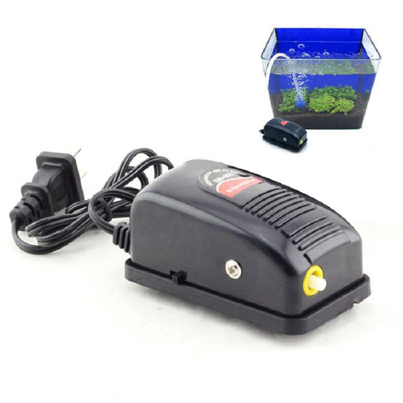 May 18 Mosunx Business 2016 Hot Selling New 3W Super Silent Adjustable Aquarium Air Pump Fish Tank Oxygen Air Pump(China (Mainland))
