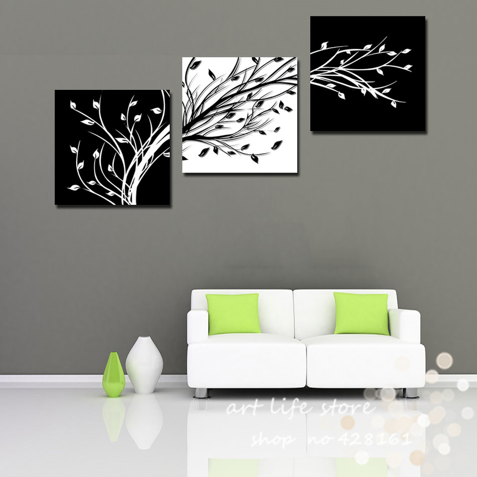 Buy 3 Piece Wall Art Modern Abstract Large Cheap