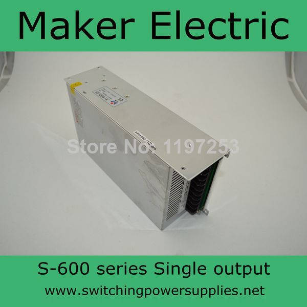 strong switch mode power supply  for LED Strip light 600w S-600-27 22A