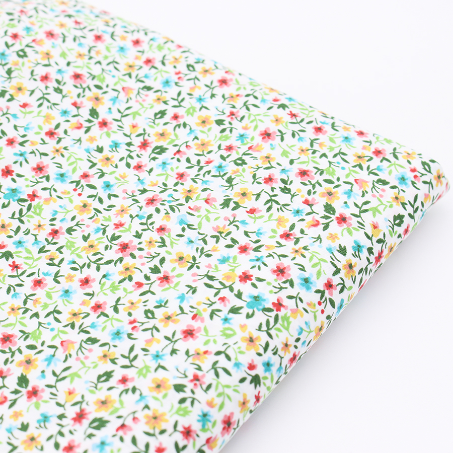 Flowers fabric printed cotton fabric for sewing material for Printed cotton fabric