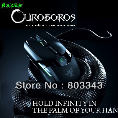 Razer Original Ouroboros Gaing mouse,  8200DPI, 4G Dual Sensor System, wireless mouse, Brand new in box, Fast&Free shipping.