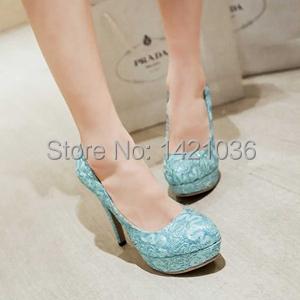 Plus Size34-43 2015 Wonen Basic Pumps Spring Autumn wedding shoes black glitter high heels shoes Female platforms Pumps PS396(China (Mainland))