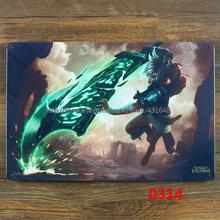 League of Legends Riven Tin Sign Metal Poster Wall Decoration BRA CLUB HOME Hanging ART Painting Size 30*20cm(China (Mainland))