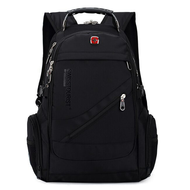 Swiss Army Knife 15 inch Laptop Backpack Fashion Brand Design Men's Travel Bag Man Backpack Nylon Computer Bags TPS-24(China (Mainland))