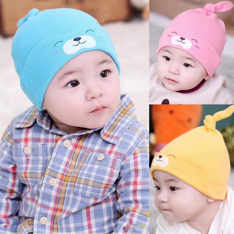 1PC Child Baby Sleep Hat Newborn Cap The Baby Kit Lens Cap Baby Cotton Cap YE106(China (Mainland))