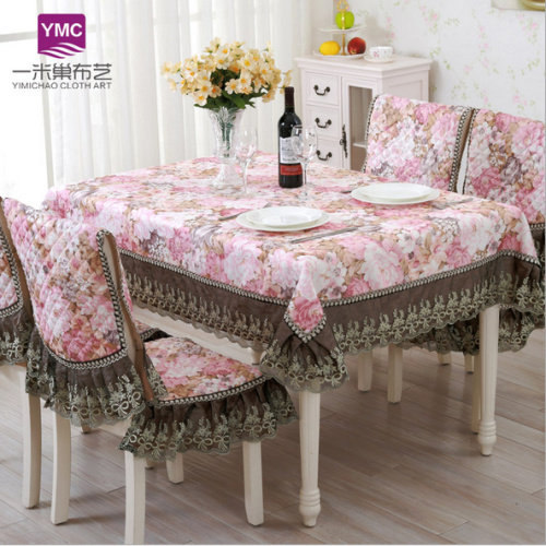 2016Hot Sale Europe Polyester Tablecloth Embroidered Tablecloth Square Floral Home Hotel Table Cover Decorative P10YM-013(China (Mainland))