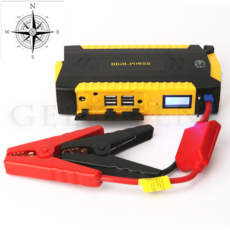 Gasoline Diesel Car Jump Starter 69800mAh Charger for Car Battery 4USB Jump Starter Power Bank for Car Charger for Electronics(China (Mainland))
